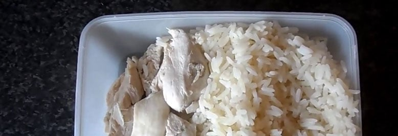 Chicken anD rICE meal